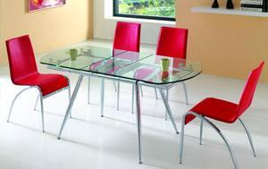 В чем особенность стеклянных столов