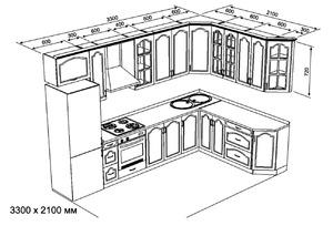 Кухни из фанеры схемы