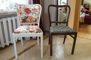 Техника декупаж стульев своими руками 164