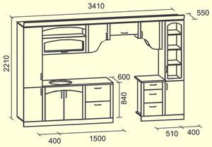 Сделать своими руками кухонный гарнитур чертежи и схемы 76