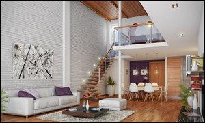 Оформления пространства в стиле лофт