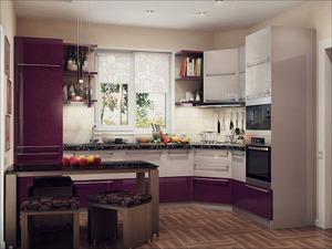 дизайн кухни 16 м2 в современном стиле фото