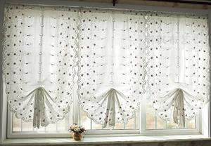 Как можно сделать рулонные шторы из ткани