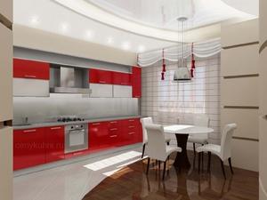Пол и стены на кухне