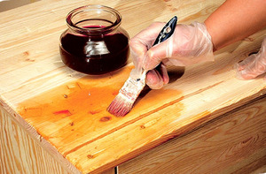 Описание составов для патинирования деревянной мебели своими руками