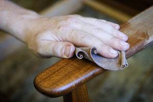 Технология создания патины на мебели из дерева своими руками
