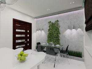Как красиво офрмить стен возле кухонного стола