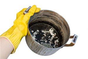 Чем чистить кастрюлю