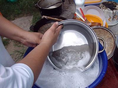 Сгорела кастрюля как очистить внутри и снаружи