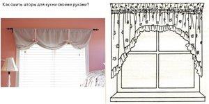 Как сшить французские шторы пошаговая