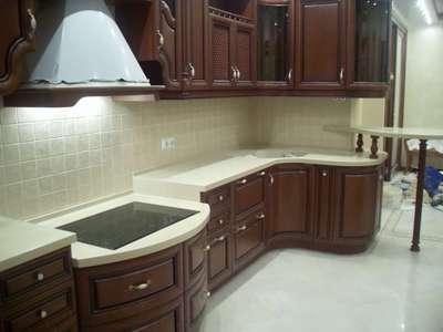 Высота столешницы на кухне стандартная высота от пола до столешницы кухонного гарнитура Как рассчитать расстояние